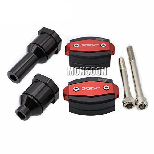 Red Body Frame Sliders Crash Protector Motobike Falling for sale  Delivered anywhere in USA