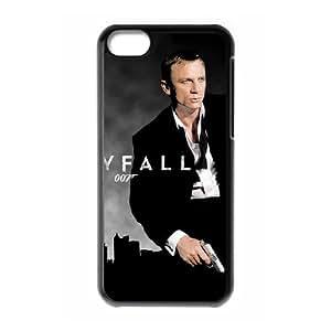 IPhone 5C Phone Case for Classic Theme Skyfall 007 pattern design GJBDSFL00792592