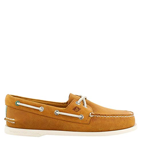 Sperry Top-Sider Authentic Original Richtown Boat Shoe Men 11.5 Tan from SPERRY