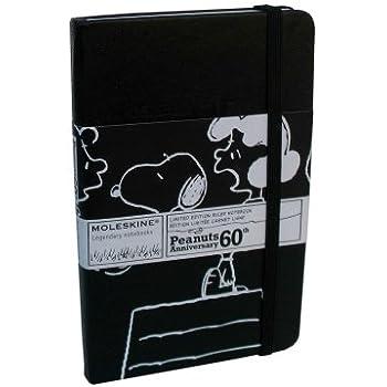 Moleskine Limited Edition: Peanuts Black Ruled Pocket