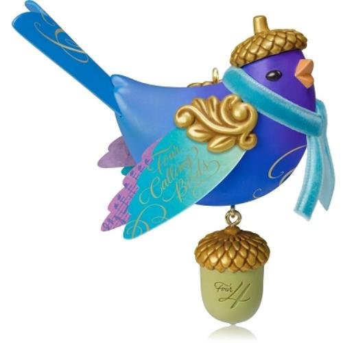 Hallmark Four Calling Birds 4th in Twelve Days of Christmas Series