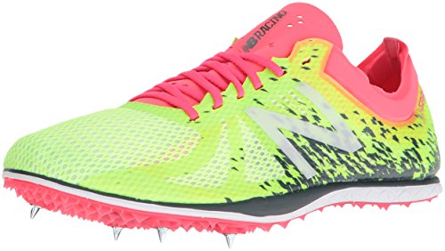 New Balance Women's WLD5KYP4 Track Shoes, Yellow/Pink, 5 B US by New Balance