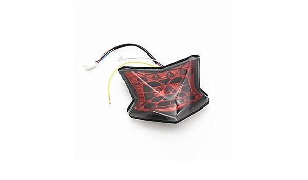 Pommee - Luces traseras LED integradas para Parada, luz de ...