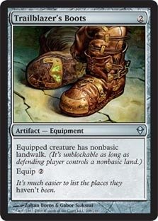 Magic: the Gathering Trailblazer39;s Boots (208) - Zendikar