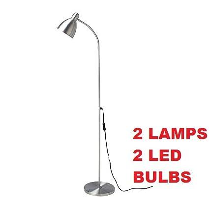 Ikea lersta floor lamp e26 led bulb included 2 pack adjustable ikea lersta floor lamp e26 led bulb included 2 pack adjustable aloadofball Image collections