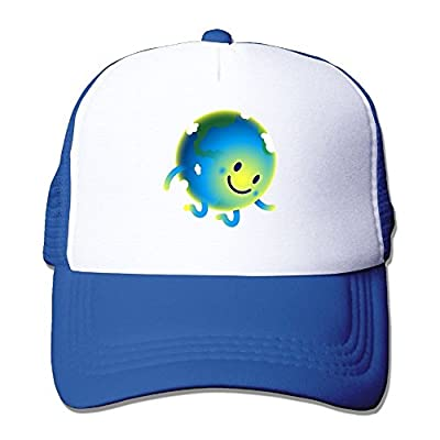Hello Earth Baseball Cap Adjustable Snapback Custom Mesh Trucker Hat by Swesa