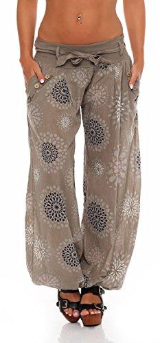 Donna Yoga 3481 Pantaloni Baggy Molti Colori Malito Fango Modelli E In S3417 BdwBq8