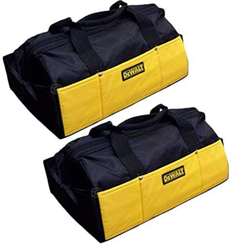 - Dewalt (2 Pack) Ballistic Nylon Contractors Tool Bag # DCK019-2pk