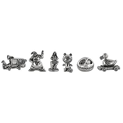 Monopoly Disney Nightmare Before Christmas 25 Years Board Game   25th Anniversary Collector's Edition   Collectible Monopoly Tokens: Toys & Games
