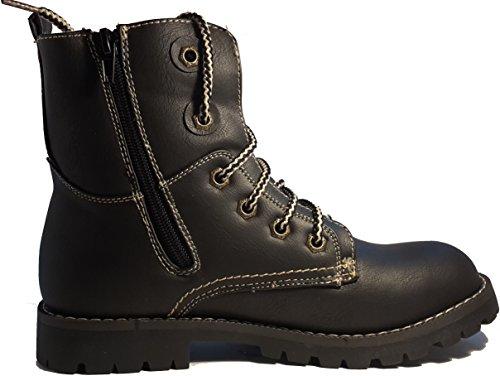 Zapatos de invierno, botas de invierno, zapatos de mujer, modello 1331400112013445, negro y marrón, diferentes modelos y tamaños. Negro