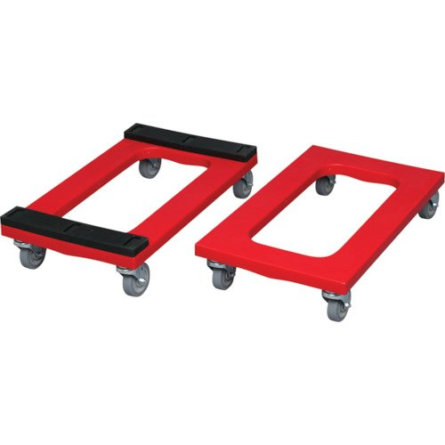 Rubbermaid Commercial Heavy-Duty Padded Dolly, Red, FG9T5500RED