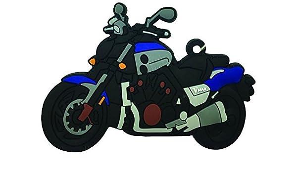 Goma Llavero Yamaha VMAX 16 >: Amazon.es: Coche y moto
