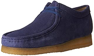 CLARKS Men's Suede Wallabee Shoes, Night Blue, 10 D(M) US (B01I4MHE2C) | Amazon price tracker / tracking, Amazon price history charts, Amazon price watches, Amazon price drop alerts
