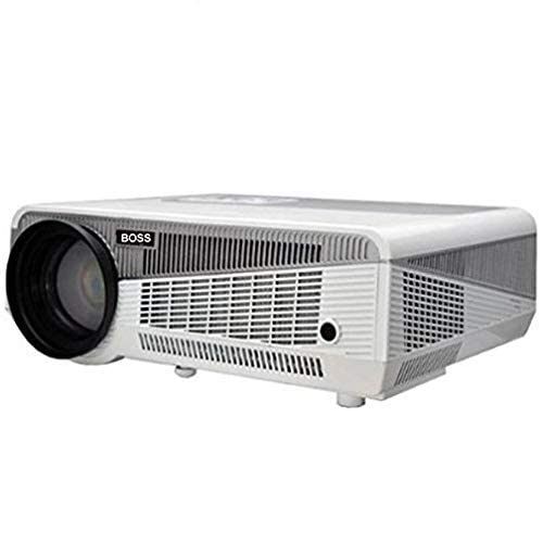 LD BOSS S2 Projector 1080P Full HD Portable LED Projector with 5700 Lumens Versatile with USB HDMI AV TV IR Excellent for Home Theatre Office Movies Presentation Games 1 Year Warranty
