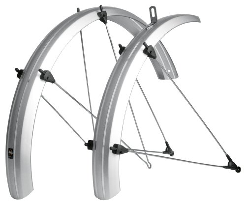 SKS SILVER B53 Fender Set for Folding/Recumbant Bike, 20-Inc