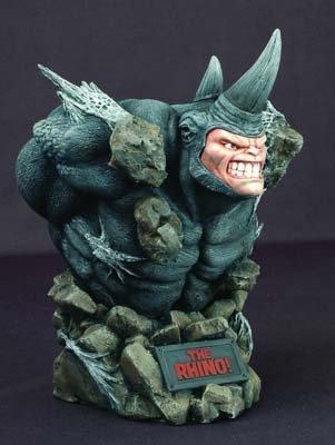 rhino marvel statue - 2