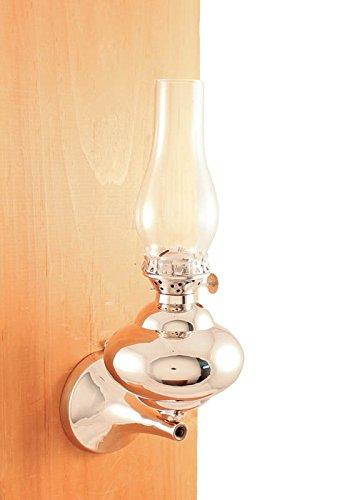 brass kerosene lamp - 3