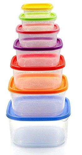 nikgic 7 pcs/conjunto de cuadrado frigorífico Crisper caja ...