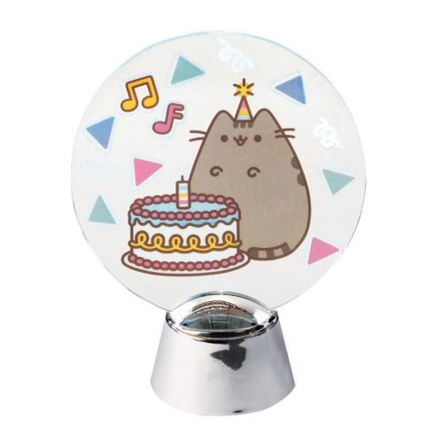 Department 56 Pusheen Birthday Holidazzler Figurine, 4.25''