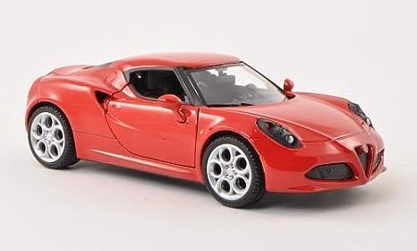 Amazoncom Alfa Romeo C Red Model Car Readymade Motormax - Alfa romeo model