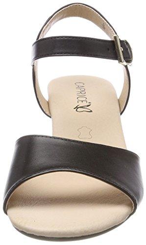 Caprice Ladies 28213 Sandali Con Tacco Nero (nero Nappa 22)