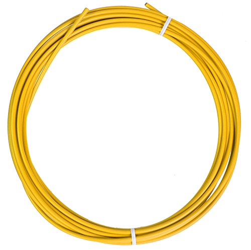 Sunlite SIS Cable Housing, 4mm x 25ft, Yellow by Sunlite