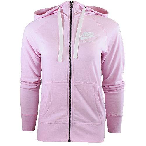 Mujer sail Nike Hoodie Fz Foam Nsw Gym Sudadera W Pink Vntg U0avqOZ0
