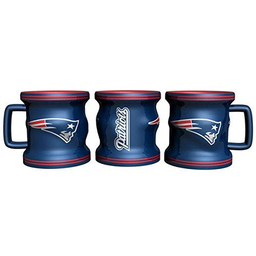 New England Patriots Shot Glass - Sculpted Mini Mug