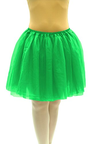[Dancina Tutu Adult Cute St Patrick Mardi Gras Cosplay Costume Pettiskirt Regular Size 18
