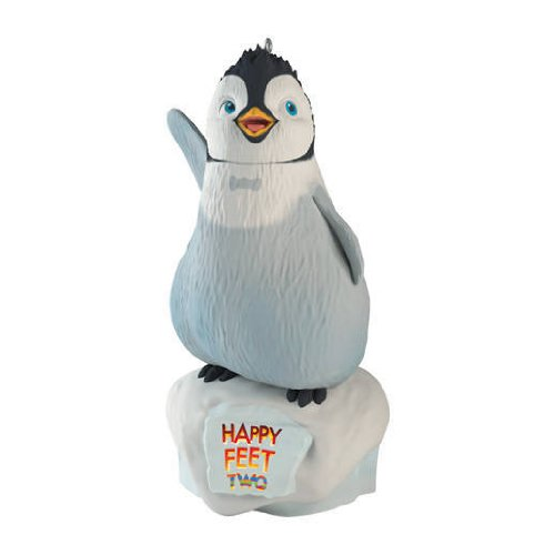 (Hallmark QXI2861 Erik Finds His Groove Happy Feet 2 2012 Keepsake Ornaments)