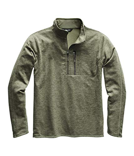 The North Face Men's Canyonlands ½ Zip, Four Leaf Clover Heather, Size XL