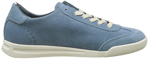 013 Low Suede Blu Cut Tommy Uomo da Scarpe Sneaker Jeans Casual Hilfiger Ginnastica Basse wUtnqgO