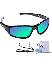 Sports Polarized Kids Sunglasses For Boys Girls Children Youth Sunglasses With Strap