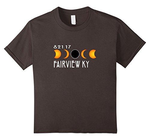 Kids Fairview Kentucky Total Solar Eclipse 2017 T-Shirt 10 - 10 Fairview