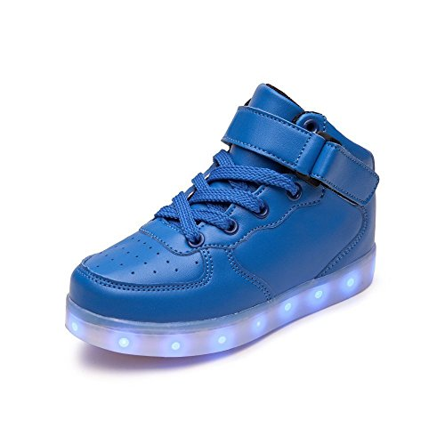 Kids LED Light Up Shoes USB Charging Flashing