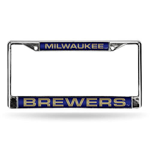 Rico Industries Brewers Dark Blue Laser Chrome Frame