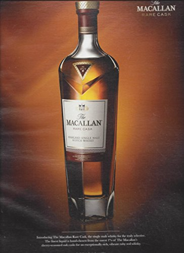 **PRINT AD** For 2014 Macallan Rare Cask Scotch **PRINT AD** - Macallan Cask