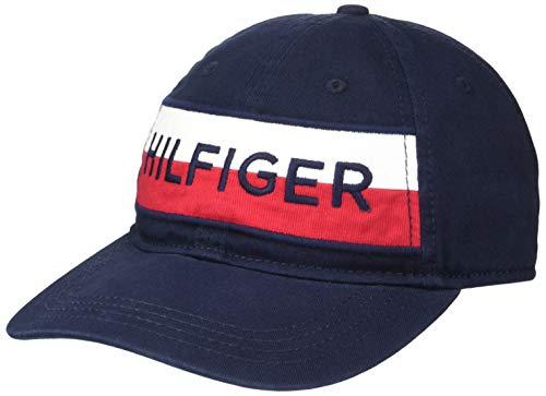 Tommy Hilfiger Men's Rafter Baseball Cap, Sky Captain, O/S