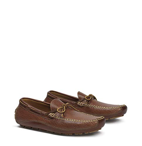 Trask Men's Drake Slip-On Loafer, Saddle Tan,