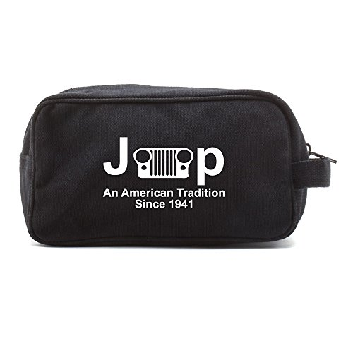 Jeep An American Tradition Canvas Shower Kit Travel Toiletry