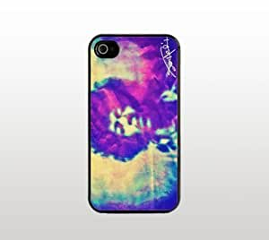 Psychedelic Jimi Hendrix iPhone 5 5s Case - Hard Plastic Snap-On Custom Cover - Black