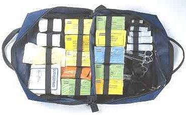 Paramedic Bag (Blue)