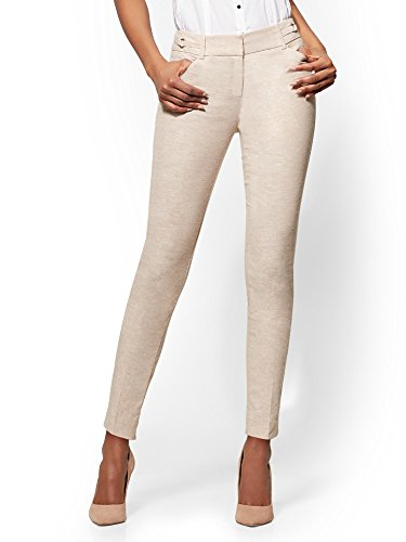 New York & CO. 7Th Avenue Pant - O-Ring Ankle - 10 Sensuous (New York Stretch Pants)