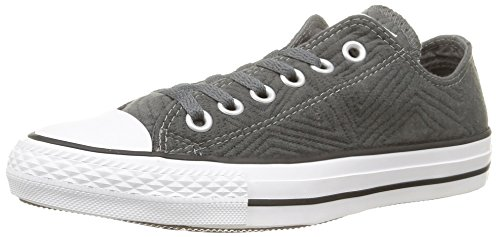 Gris Hautes Jersey Ct anthracite Quilt Femme Sneakers Converse Ynazz