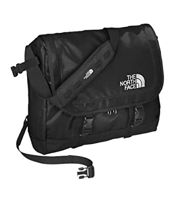 The North Face Base Camp Messenger Bag-Large (Black/black): Amazon ...