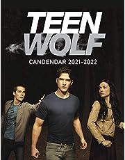 """Teen Wolf Calendar 2021-2022: Book Calendar - 8.5""""x11"""", 18 Months from 1 Jan 2021 to 31 June 2022"""