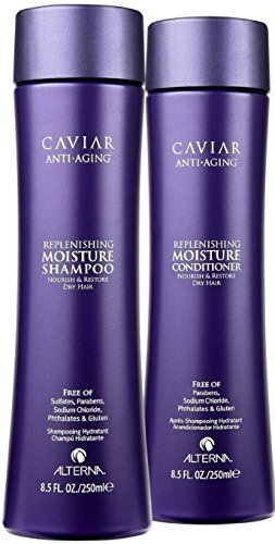 Alterna Caviar Anti-Aging Moisture Shampoo and Conditioner Duo 8.5 Ounce by Alterna (Image #1)