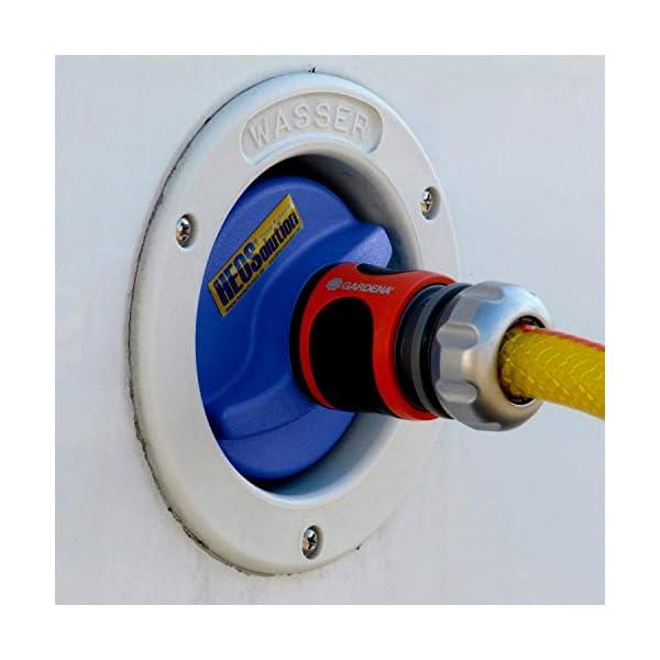 41y5leg EOL HEOSwater Wassertankdeckel 5251 Connector universal mit Gardena-Anschluss