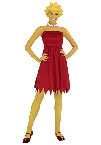 [Fun Costumes womens Adult Lisa Simpson Costume Medium] (Lisa Simpson Costumes)