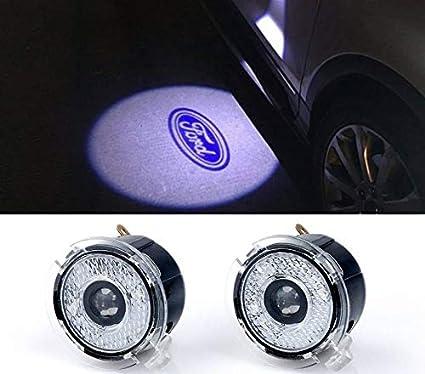 Sunshine Fly 2/pi/èces LED Logo Page Miroir Projecteur Lumi/ère de bienvenue automatique de remplacement arri/ère Accessoires